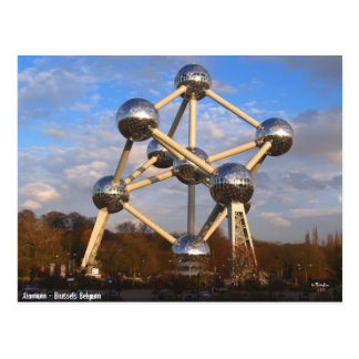 Atomium ポストカード