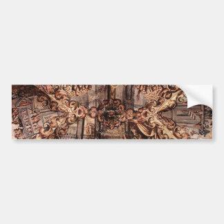 Atotonilco教会の天井で絵を描くこと バンパーステッカー