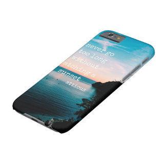 Atticusによる日没 Barely There iPhone 6 ケース