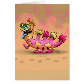 ATTILAかわいいモンスターの挨拶状 カード