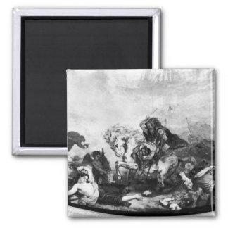 Attilaフン族および彼の大群 マグネット