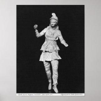 Attisの踊り、古代ギリシャ文化の期間 ポスター