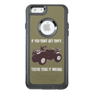 ATVは汚れたオッターボックスの電話箱を得ます オッターボックスiPhone 6/6Sケース