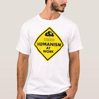 ATXAHHのための仕事のヒューマニズム Tシャツ