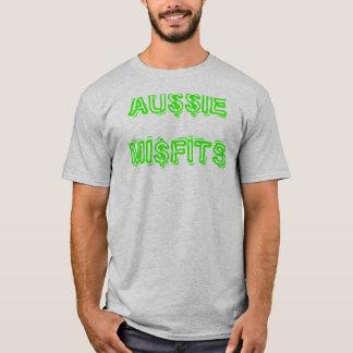 AU$$IE MI$FITS Tシャツ