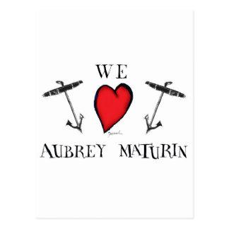 aubreyのmaturin、贅沢なfernandes ポストカード