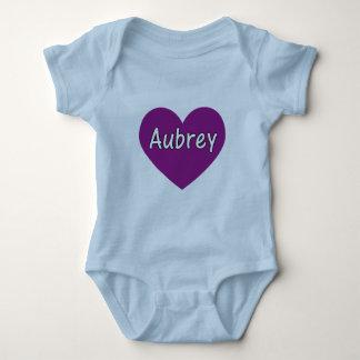 Aubrey ベビーボディスーツ