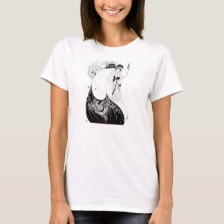 Aubrey Beardsley孔雀のスカートのTシャツ Tシャツ