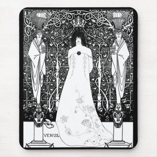 Aubrey Beardsley, Venus between the boundary God マウスパッド