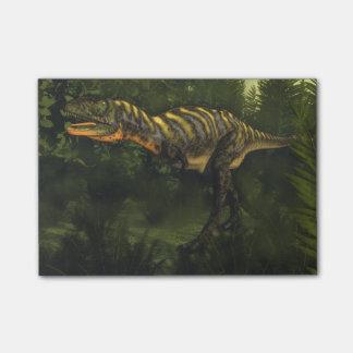 Aucasaurusの恐竜- 3Dは描写します ポストイット