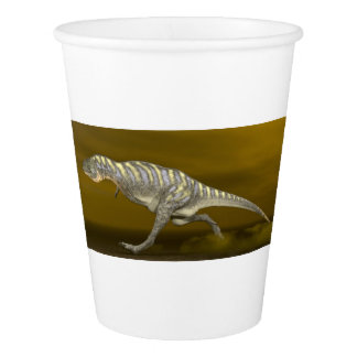 Aucasaurusの恐竜- 3Dは描写します 紙コップ
