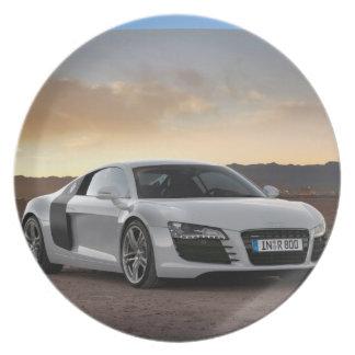 Audiのプレート プレート
