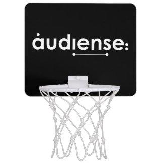 audienseの方法! 小型バスケットのたが ミニバスケットボールゴール