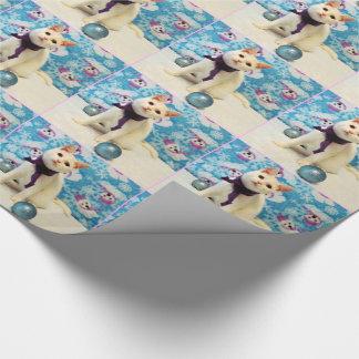 Audreyのクリスマスの包装紙 ラッピングペーパー