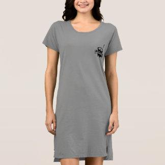 AUDREYのバー- Tシャツの服 ドレス