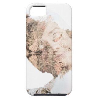 Audreyの二重露光のプリント iPhone SE/5/5s ケース