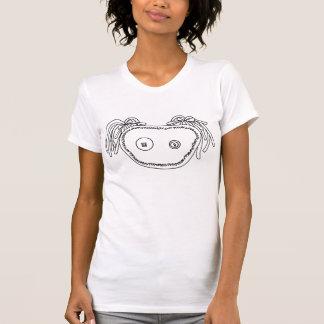 Audreyの写実的なティー-白 Tシャツ