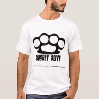 audreyの生きたknuk uなら木びき台 tシャツ