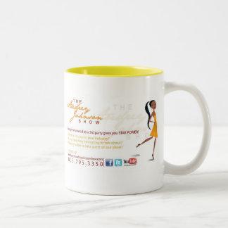 Audreyジョンソンショーのマグ ツートーンマグカップ