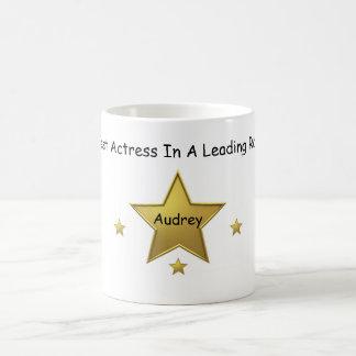 Audreyベストの女優 コーヒーマグカップ