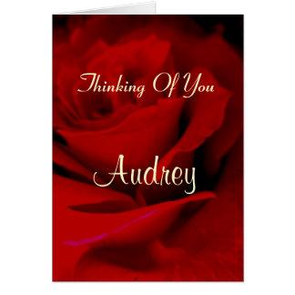 Audrey カード