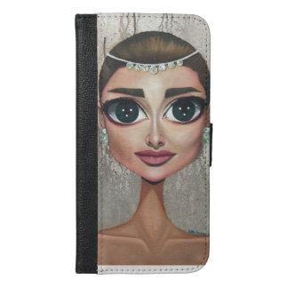 Audrey iPhone 6/6s Plus ウォレットケース