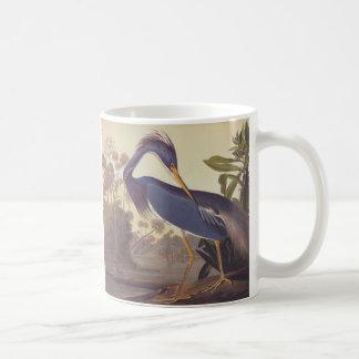 Audubonのルイジアナの鷲かTricoloredの鷲 コーヒーマグカップ