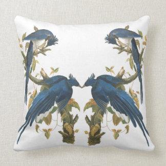Audubonコロンビアジェイの鳥の野性生物の装飾用クッション クッション