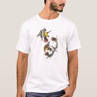 Audubon著アメリカのGoldfinch Tシャツ