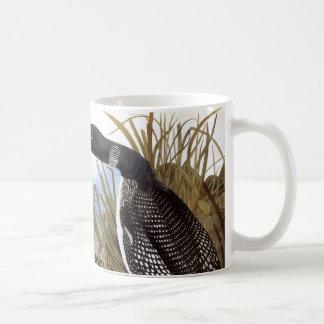 Audubon: 共通の水潜り鳥 コーヒーマグカップ