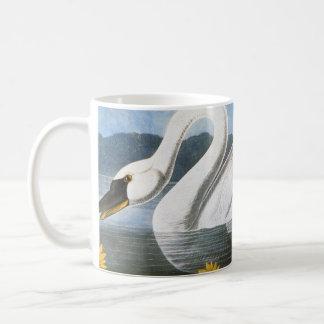 Audubon: 共通の白鳥 コーヒーマグカップ