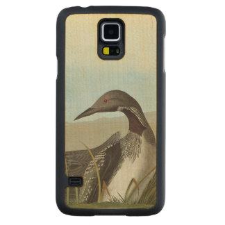 Audubon: 北極水潜り鳥 CarvedメープルGalaxy s5スリムケース