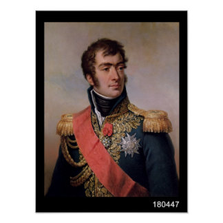 AugusteフレデリックルイViesse de Marmont ポスター