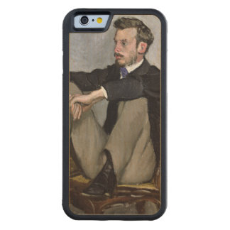 Augusteルノアール1867年のポートレート CarvedメープルiPhone 6バンパーケース