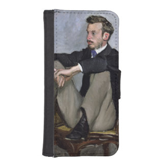 Augusteルノアール1867年のポートレート iPhoneSE/5/5sウォレットケース