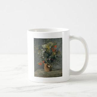 Augusteルノアール-つぼの花 コーヒーマグカップ