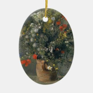 Augusteルノアール-つぼの花 セラミックオーナメント