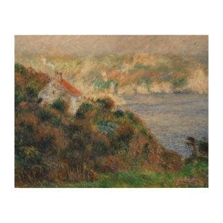 Augusteルノアール-ガーンジーの霧 ウッドウォールアート