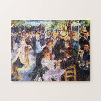 Augusteルノアール- Le moulin deのla Galetteで踊って下さい ジグソーパズル