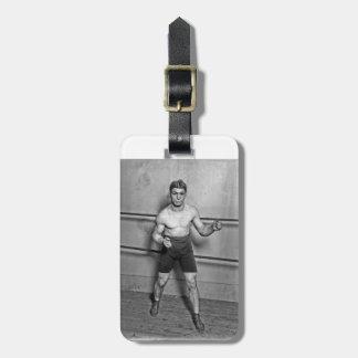 Auguste Grassi (1920年)ボクサー ラゲッジタグ