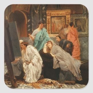 Augustusの時のアルマTadema |のコレクター スクエアシール