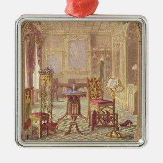 AugustusチャールズPugi著Puginのゴシック様式家具、 メタルオーナメント