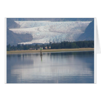 Auke湖およびMendenhallの氷河 カード