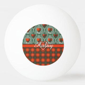 Aulayの一族家族の格子縞のスコットランドのキルトのタータンチェック 卓球ボール