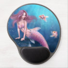 Aurelia Goldfish Mermaid Gel Mousepad ジェルマウスパッド