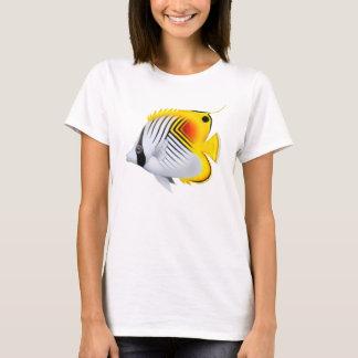 AurigaのThreadfinのButterflyfishのベビードールのワイシャツ Tシャツ