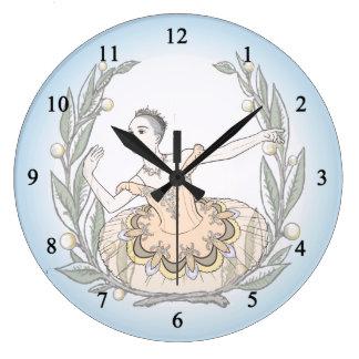 Aurora オーロラ ラージ壁時計
