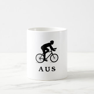 AUSを循環させるオースティンテキサス州 コーヒーマグカップ