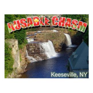 AuSableの溝 ポストカード