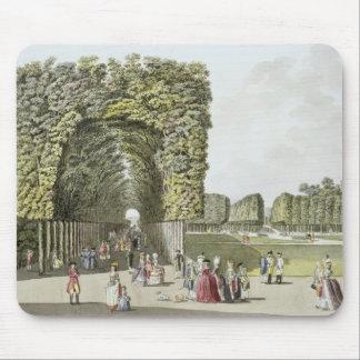 Ausgarten、「Pleからのウィーンの庭の部分、 マウスパッド